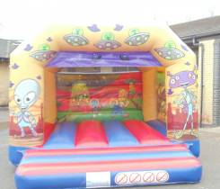 Alien Bouncy Castle