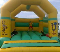 Road Runner Bouncy Castle